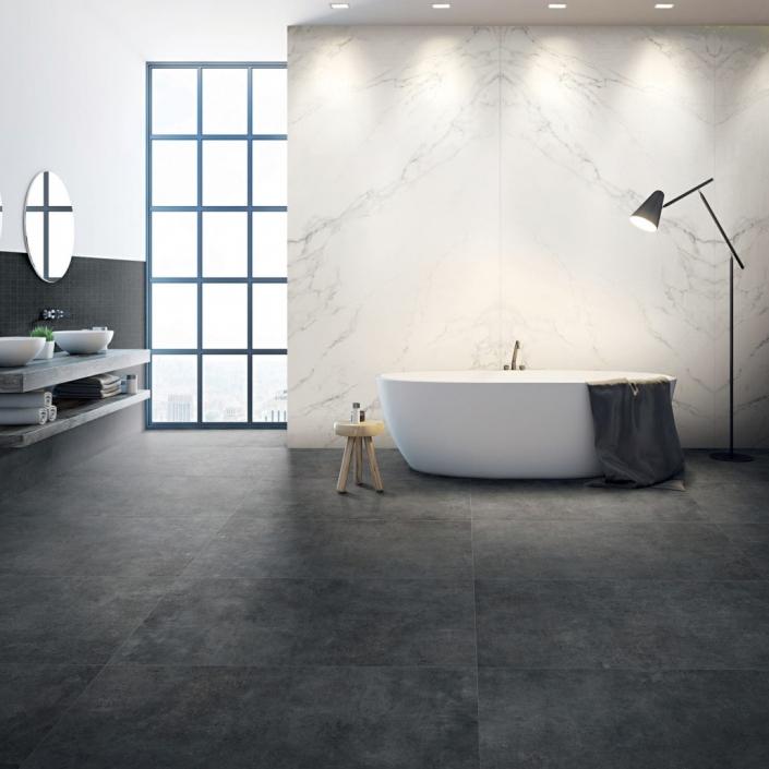 ebaypavimenti-La-Fabbrica-Space-80x80-Plomb-pavimento-effetto-cemento
