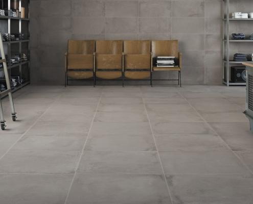 ebaypavimenti-La-Fabbrica-Velvet-Cromo-60-x-60-lappato-pavimenti-industrial