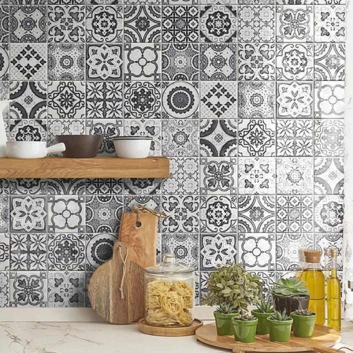 ebaypavimenti-Ceramica-Valsecchia-Maioliche-black-white-15x15-pavimenti-cementine