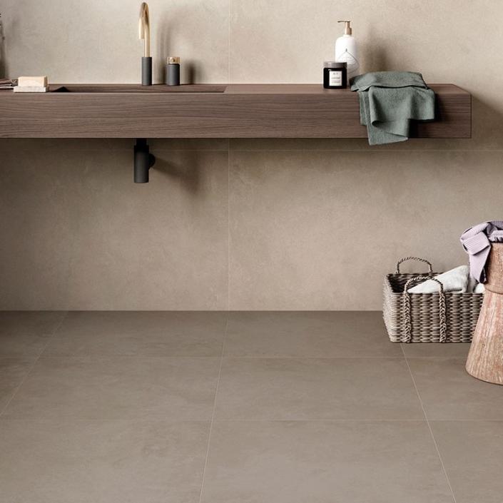 ebaypavimenti-Ceramica-Valsecchia-Recover-Beige-60x60-pavimento-effetto-cemento